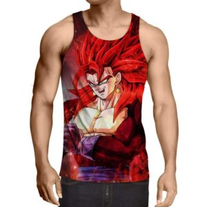 Dragon Ball Vegito 4 Blue Super Saiyan Kaioken Cool Tank Top