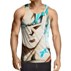 Dragon Ball Vegito Blue Super Saiyan Pissed Summer Tank Top