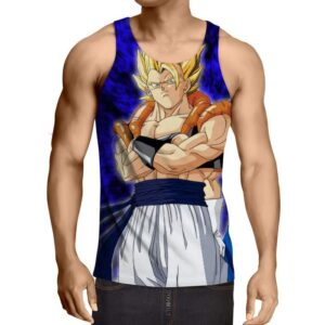 Dragon Ball Z Gogeta Super Saiyan Dope Beach Summer Tank Top