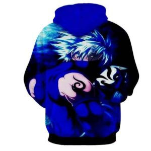 Hatake Kakashi Naruto Japanese Anime Powerful Art Hoodie