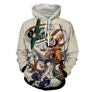 Naruto Hinata Lee Ninja Style Pose Dope Art Winter Hoodie