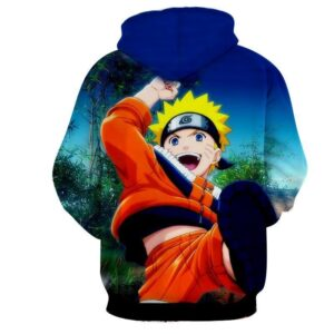 Naruto Kid Japan Anime Fan Art Full Print Amazing Hoodie