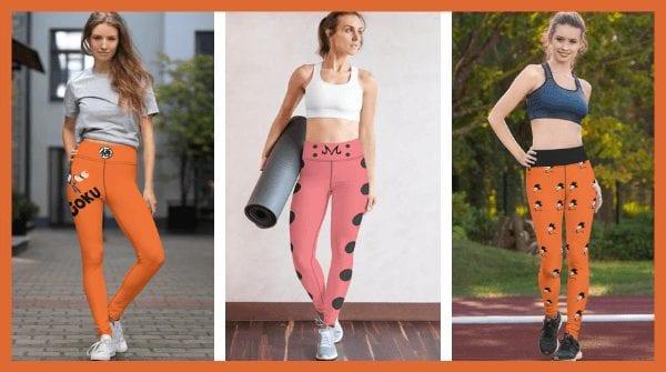 Top 10 Dragon Ball Z Women's Leggings For Workout & Yoga