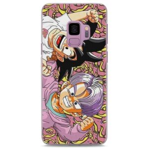 Adorable Kid Goku Trunks Samsung Galaxy Note S Series Case