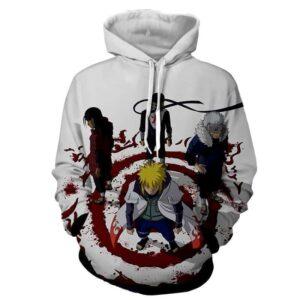 Anime Naruto Shippuden Hokage Japanese Anime Cool Hoodie