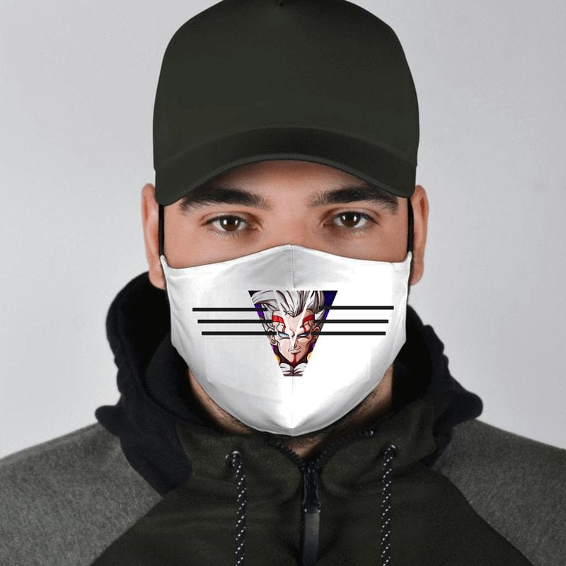 DBZ Baby Vegeta Tuffle Race Survivor White Face Mask