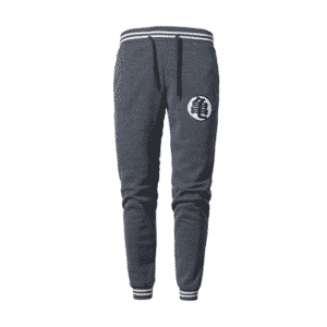 DBZ Master Roshi's Kanji Logo Dark Grey Workout Sweatpants