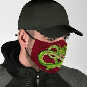 Dragon Ball Z Divine Magical Dragon Shenron Red Face Mask