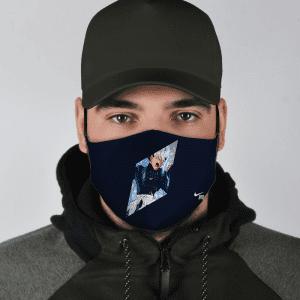Dragon Ball Z Enraged Byo Nike Inspired Navy Blue Face Mask