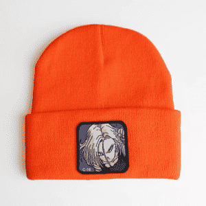 Dragon Ball Z Fighters Android 18 Orange Streetwear Beanie