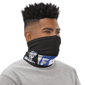 Dragon Ball Z Frost Badass Art Face Covering Neck Gaiter