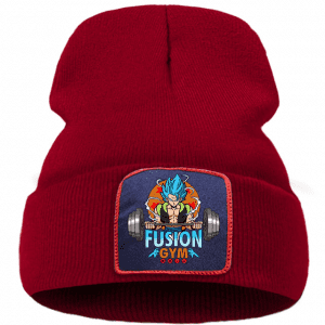 Dragon Ball Z Gogeta Fusion Gym Red Outdoor Casual Beanie