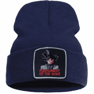 Dragon Ball Z Goku Black Dark Blue Casual Warm Beanie