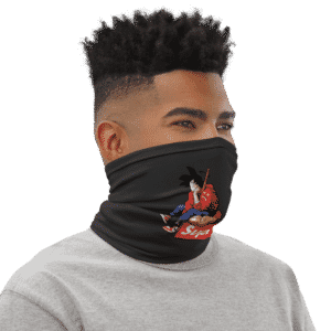 Dragon Ball Z Goku Dope Supreme Face Covering Neck Gaiter