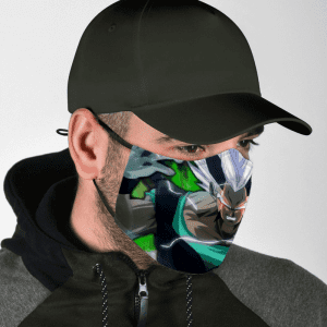 Dragon Ball Z Goku's Genetically Cloned Son Zaiko Face Mask