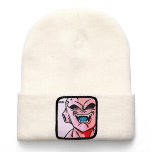 Dragon Ball Z Kid Majin Buu White Casual Winter Beanie