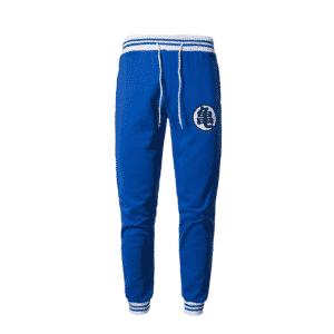 Dragon Ball Z Master Roshi's Training Kanji Blue Sweatpants