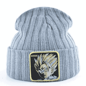 Dragon Ball Z Ultimate Gohan Gray Casual Streetwear Beanie