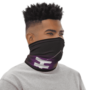 Dragon Ball Z Zeno Art Symbol Face Covering Neck Gaiter