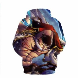 Funny One Piece Whitebeard Amazing Anime 3D Design Hoodie