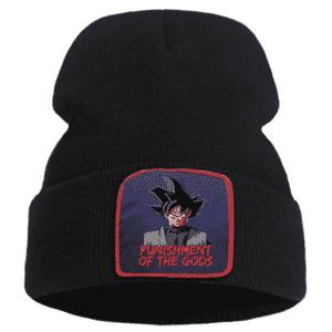 Goku Black Punishment Of The Gods Black Streetwear Beanie