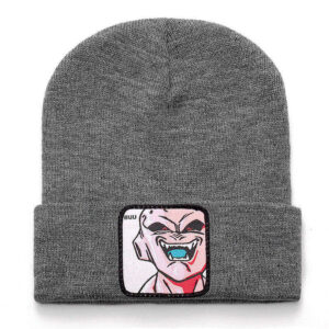 Dragon Ball Z Kid Majin Buu Gray Casual Streetwear Beanie