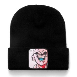 Dragon Ball Z Kid Majin Buu Black Casual Streetwear Beanie