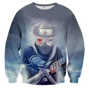 Kakashi Young Ninja Sharingan Fan Art Design Cool Sweatshirt