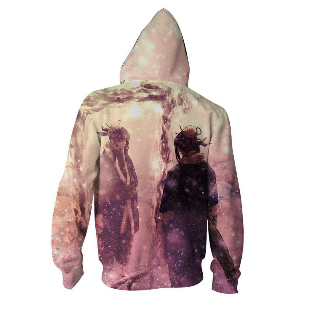 Lonely Haku Yuki Ultimate Ninja Full Print Zip Up Hoodie