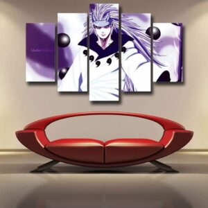 Madara Sage of Six Path Mode Villain Dope Style 5pcs Canvas