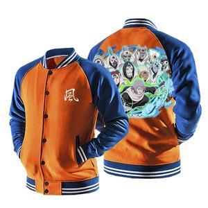 Naruto Chiyo Sunagakure Puppet Brigade Orange Baseball Jacket