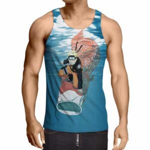 Naruto Anime Colorful Koi Fish Under Water Trendy Tank Top