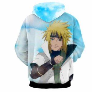 Naruto Father Minato Namikaze Legendary Anime Design Hoodie