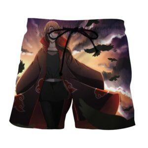 Naruto Female Itachi Fan Art Design Akatsuki Dope Shorts