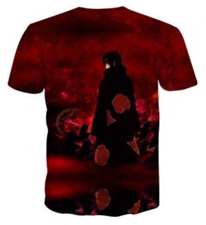 Naruto Itachi Uchiha Akatsuki Ninja Magic Style Dope T-Shirt