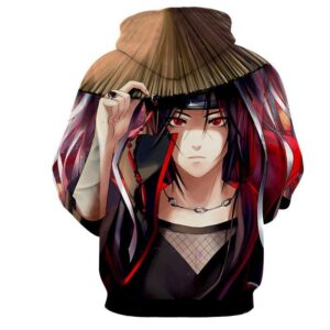 Naruto Japan Anime Itachi Uchiha Amazing Brilliant Hoodie