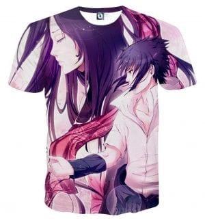 Naruto Japan Anime Sasuke Yuki Hatake Romance Cool T-Shirt