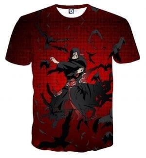Naruto Japanese Anime Itachi Uchiha Fierce Fabulous T-Shirt