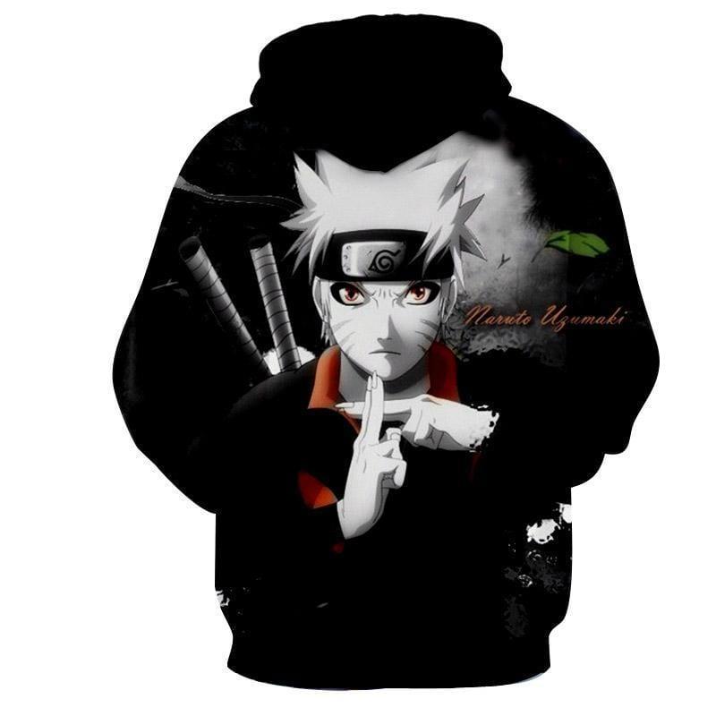 Naruto Jinchuuriki Lengen Ninja Fan Art Anime Trendy Hoodie