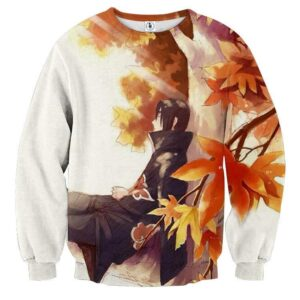 Naruto Manga Itachi Relax Pencil Sketch Fan Art Sweatshirt