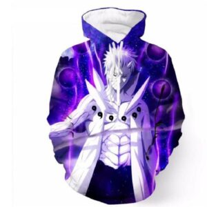 Naruto Obito Uchiha Sage of Six Paths Senjutsu Art Anime Hoodie