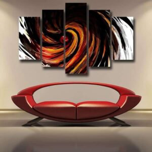 Naruto Obito Uchiha Sharingan Akatsuki Wall Art 5pc Canvas Prints