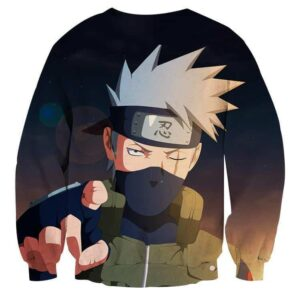 Naruto Shinobi War Third Division Commander Sweatshirt