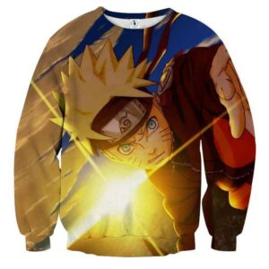 Naruto Shippuden Hero Come Back Theme Manga Dope Sweatshirt