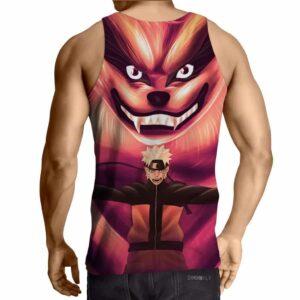 Naruto Shippuden Kyuubi Fox Monster Ninja Theme Cool Design Tank Top