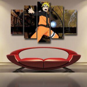 Naruto Shippuden Ninja Hero Rasengan Cool Style 5pcs Canvas
