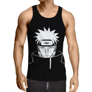 Naruto Shippuden Yahiko Pain Akatsuki Cool Design Tank Top
