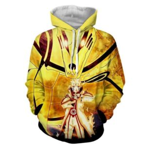 Naruto Sith Path Sage Mode Kurama Fox Awesome Hoodie