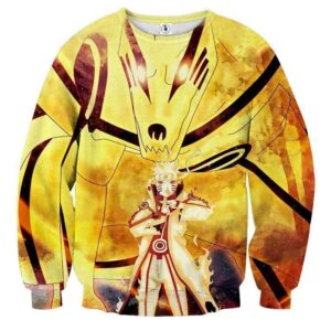 Naruto Sixth Path Sage Mode Kurama Fox Awesome Sweatshirt