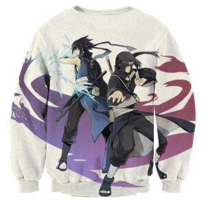 Naruto Uchiha Brothers Itachi Sasuke Cool Manga Sweatshirt